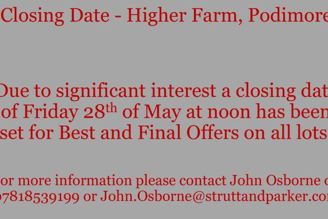 Thumbnail Land for sale in Podimore, Yeovil, Somerset