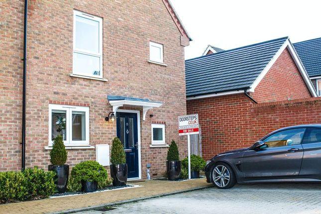 3 bed end terrace house for sale in Poulter Croft, Middleton, Milton Keynes