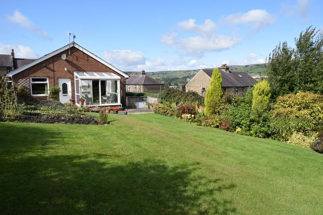 Thumbnail Detached bungalow for sale in Linfit Lane, Linthwaite, Huddersfield