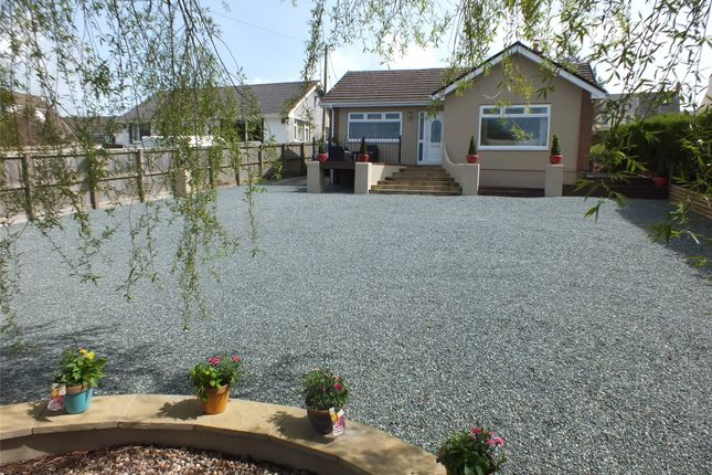 Thumbnail Detached bungalow for sale in Cedar Gate, Priory Lodge Drive, Milford Haven, Pembrokeshire