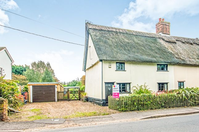 Thumbnail Semi-detached house for sale in Garboldisham Road, East Harling, Norwich