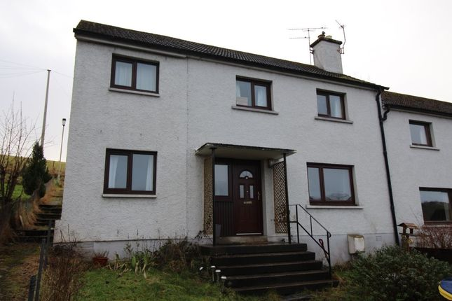 Thumbnail Terraced house for sale in Macrae Crescent, Dingwall
