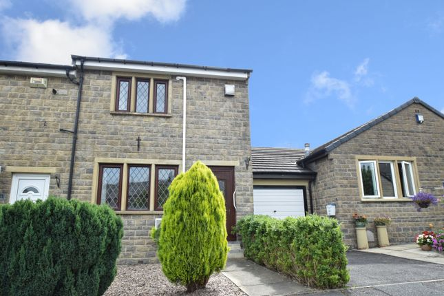 Thumbnail End terrace house for sale in Forge View, Steeton, Keighley