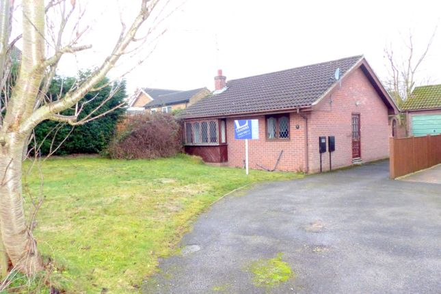 Thumbnail Bungalow to rent in Webster Close, Rainworth, Mansfield