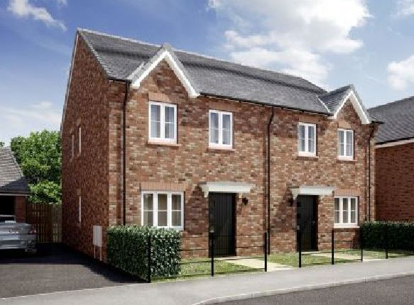 Thumbnail Semi-detached house for sale in Dark Lane, Morpeth, Northumberland