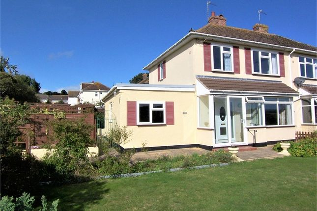 Thumbnail Semi-detached house for sale in Harepath Road, Seaton