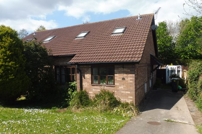 Thumbnail Semi-detached bungalow for sale in Jasmine Drive, St. Mellons, Cardiff