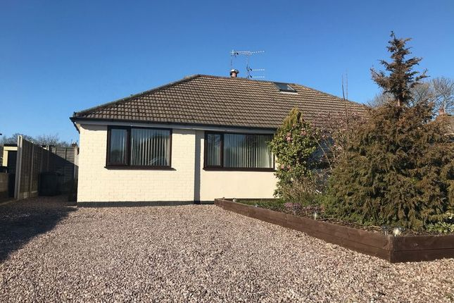 Thumbnail Bungalow for sale in Alexander Close, Burscough, Ormskirk