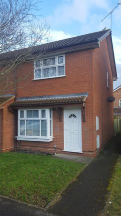 Thumbnail End terrace house to rent in Lysander Close, Woodley, Reading