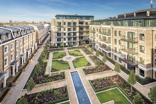 Thumbnail Flat for sale in Renaissance Square Apartments, Burlington Lane, London