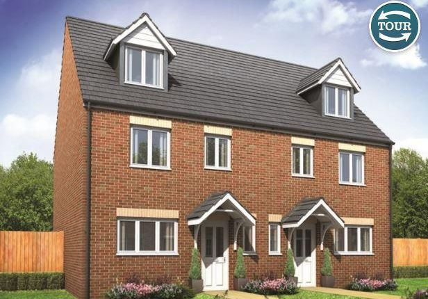 Thumbnail Property for sale in Plot 185 Leicester, Cardea, Peterborough