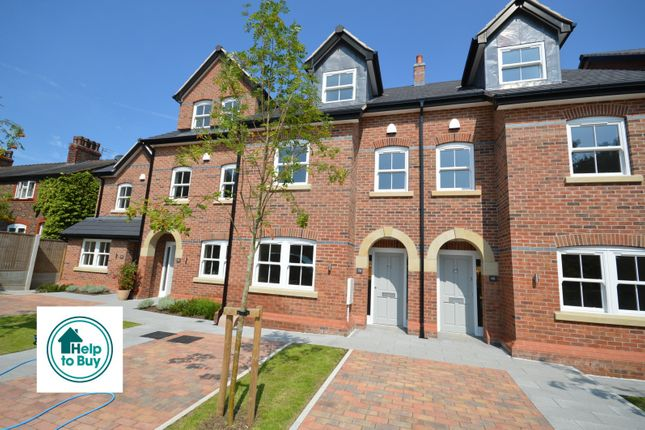 Thumbnail Mews house for sale in Cedarfield Road, Lymm