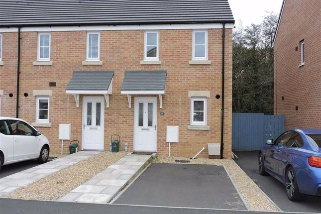 Thumbnail End terrace house for sale in Heol Cae Pownd, Cefneithin, Llanelli