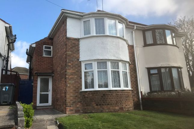 Thumbnail Semi-detached house for sale in Duncroft Road, Birmingham