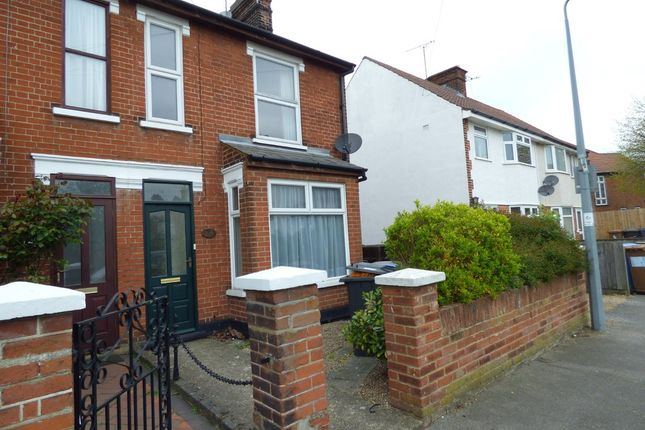 Thumbnail Semi-detached house for sale in King Edward Road, Ipswich