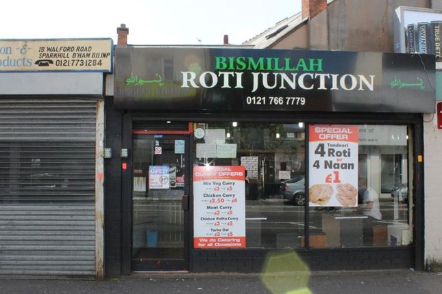 Thumbnail Retail premises for sale in Walford Road, Birmingham