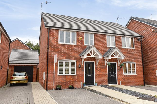Thumbnail Semi-detached house for sale in The Hollies, Westfield Street, Higham Ferrers, Rushden