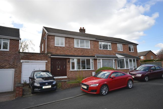 Thumbnail Semi-detached house for sale in Tudor Drive, Tanfield, Stanley