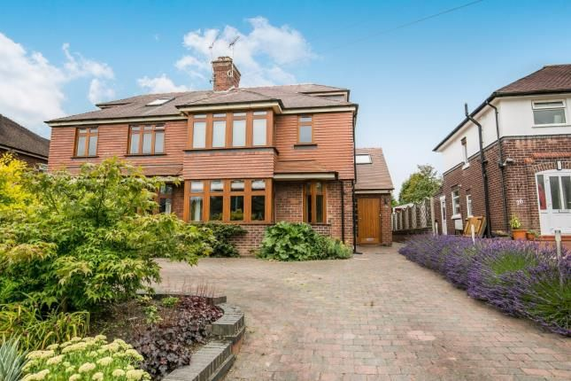 Thumbnail Semi-detached house for sale in Mill Hill Lane, Sandbach, Cheshire