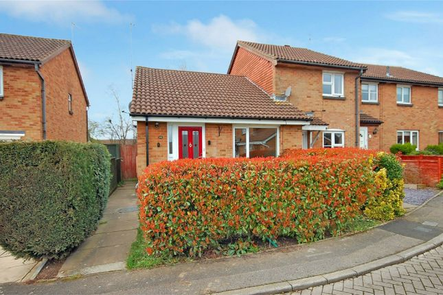 Thumbnail Terraced bungalow for sale in Ash Close, Aylesbury, Buckinghamshire