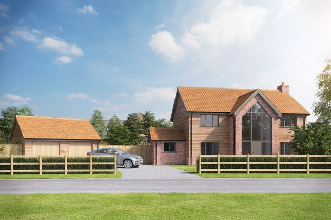 Thumbnail Detached house for sale in Hockering, Dereham