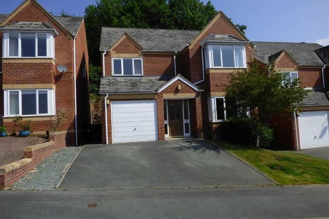 Thumbnail Detached house to rent in Brynfa Avenue, Welshpool