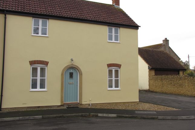 Thumbnail End terrace house to rent in Forts Orchard, Chilthorne Domer