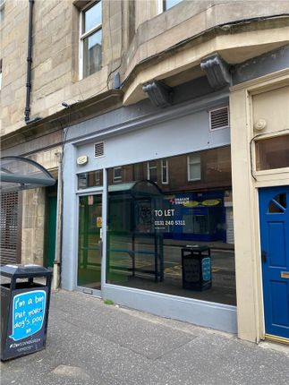 Thumbnail Retail premises to let in 8 St Peters Buildings, Edinburgh