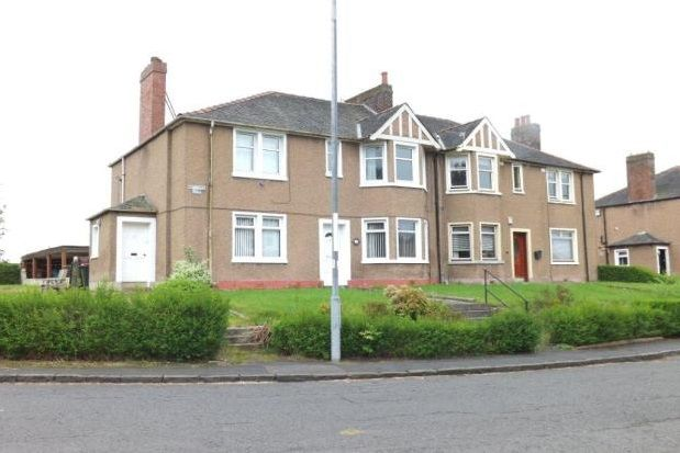 Thumbnail Flat to rent in Haughview Road, Motherwell