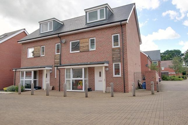 Thumbnail Semi-detached house for sale in Brunswick Place, Totton