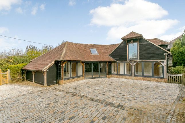 Thumbnail Detached house for sale in Trycewell Lane, Ightham, Sevenoaks, Kent