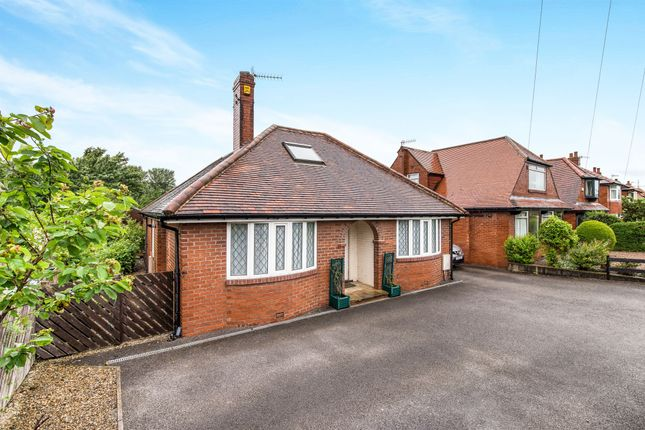 Thumbnail Detached bungalow for sale in Leeds Road, Ilkley