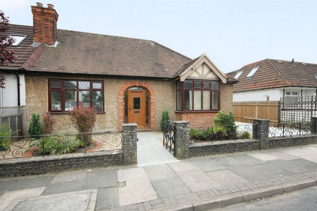 Thumbnail Detached bungalow to rent in Lowfield Road, London
