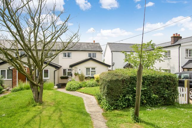 Thumbnail End terrace house for sale in Langley Upper Green, Saffron Walden