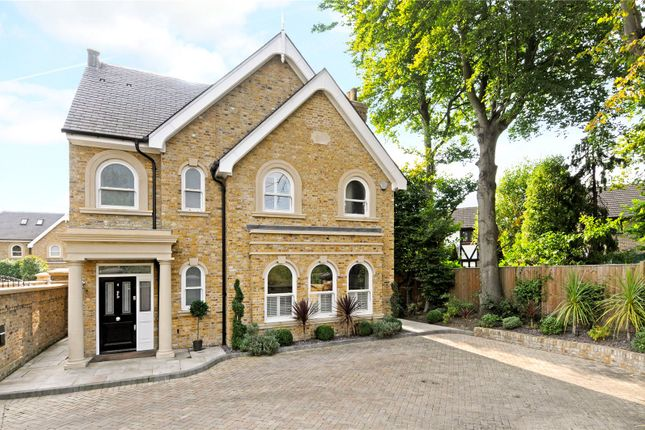 Thumbnail Detached house for sale in Hever Place, East Molesey, Surrey