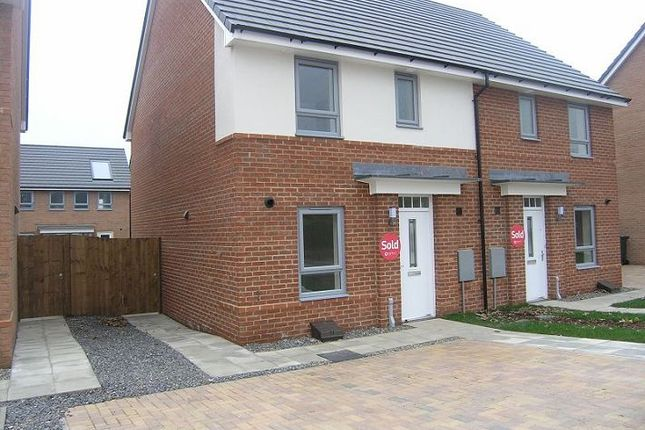 Thumbnail Semi-detached house to rent in Carsdale Road, Kenton, Newcastle Upon Tyne