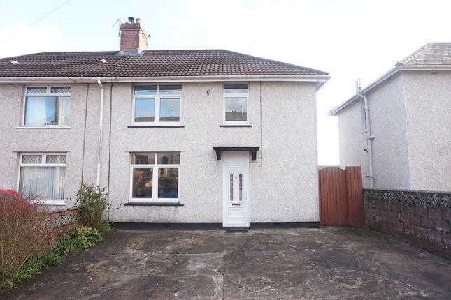 Thumbnail Semi-detached house for sale in Brynhyfryd Terrace, Hengoed