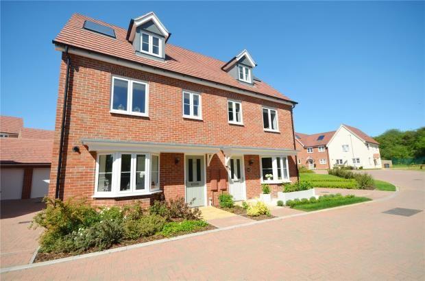 Thumbnail Semi-detached house for sale in Strachey Close, Saffron Walden, Essex