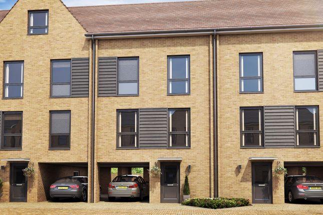 "Thumbnail Terraced house for sale in ""House Type E2"" at Hackbridge Road, Wallington"