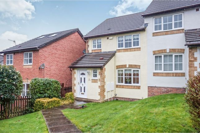 Thumbnail Semi-detached house for sale in The Ridings, Aberdare