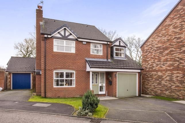 Thumbnail Detached house for sale in Avocet Court, Leyland