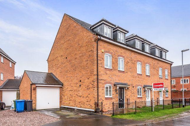 Thumbnail Semi-detached house for sale in Comfrey Close, Huntington, Cannock