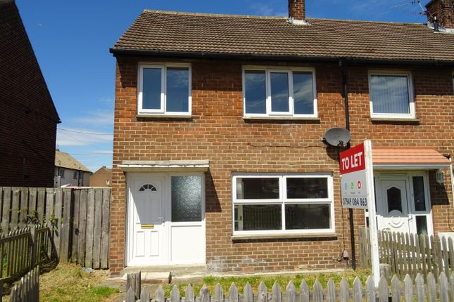 Thumbnail Semi-detached house to rent in Fellgate, Jarrow