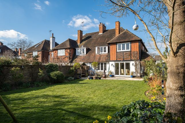 Thumbnail Semi-detached house for sale in Madeira Road, West Byfleet