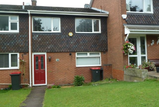 Thumbnail Town house to rent in Lawnsdale Close, Coleshill