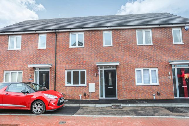 Thumbnail Terraced house for sale in Motherwell Court, Newport