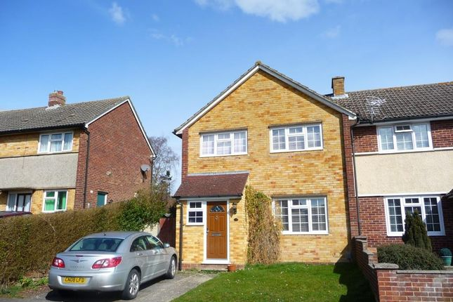 Thumbnail Semi-detached house to rent in Oakley Road, Newbury