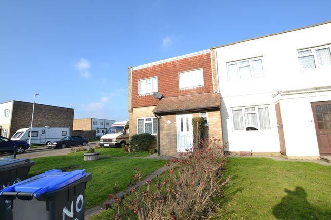 Thumbnail Semi-detached house to rent in Vineries Close, Worthing, West Sussex