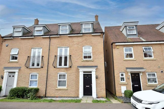 Thumbnail Semi-detached house to rent in Bluebell Close, Wellingborough