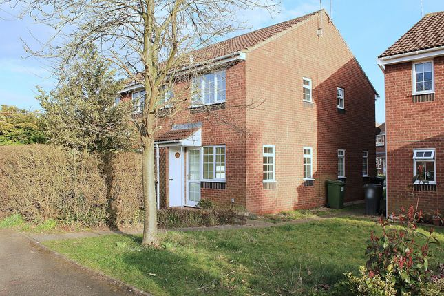 Thumbnail End terrace house for sale in Ebourne Close, Kenilworth
